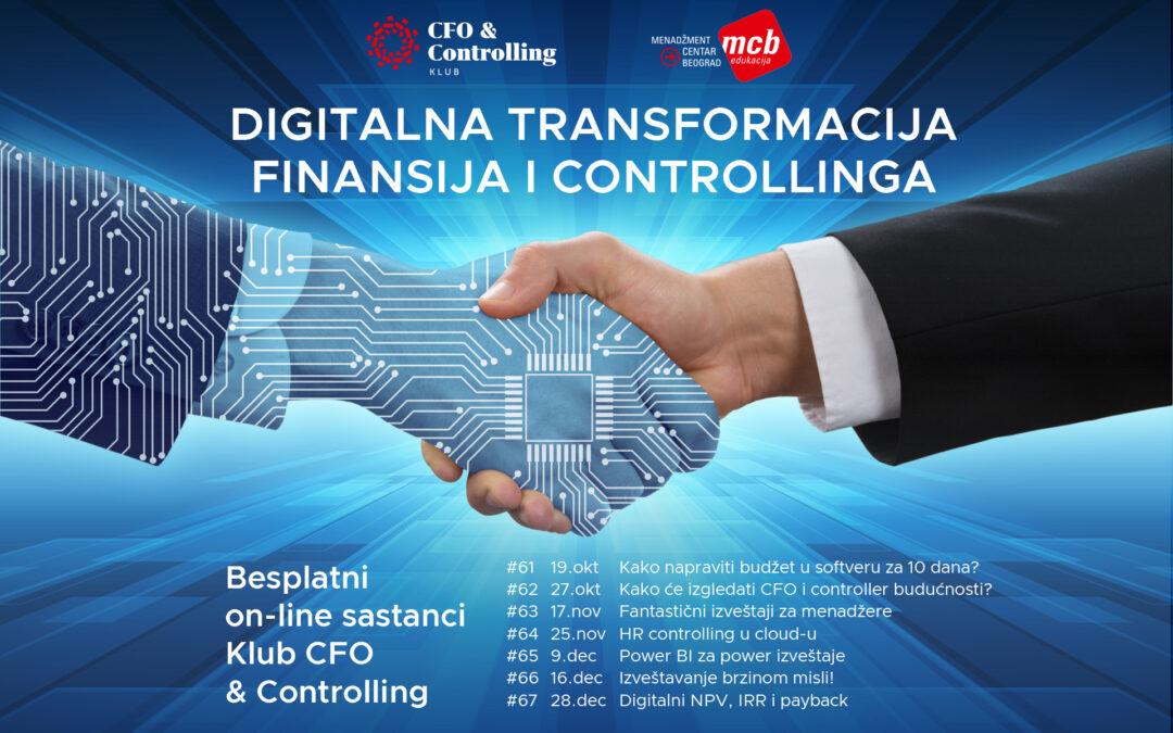 Digitalna transformacija finansija i controllinga