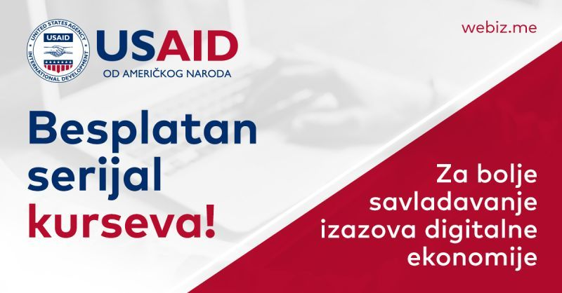 Serijal USAID kurseva – Za bolje savladavanje izazova digitalne ekonomije